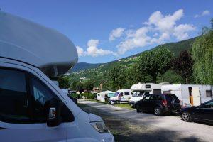 Wohnmobil Dolomiten